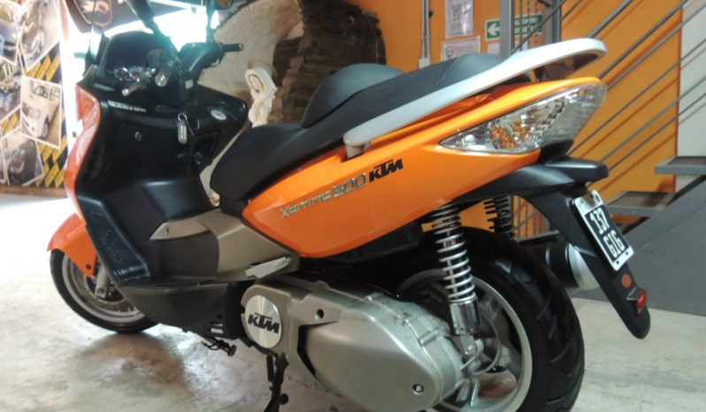 Kymco Xciting 500 lleno